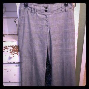 Michael Kors houndstooth pattern Millbrook slacks